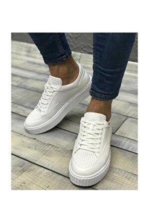 Chekich Ch017 Bt Erkek Beyaz Ayakkabı