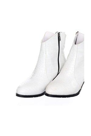 İriadam Kadın Beyaz Anakonda Bot K1002