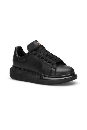 DARK SEER Unisex Full Siyah Sneaker Ayakkabı