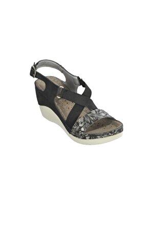 CARLA VERDE Carlaverde 170667 Siyah Kadın Sandalet
