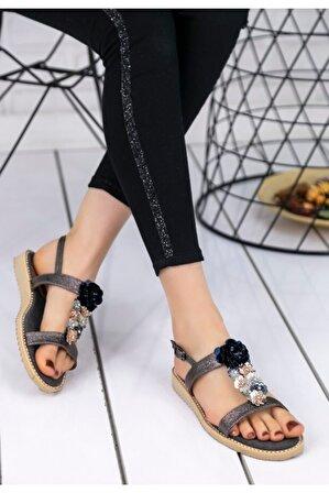pabucmarketi Kadın Comfort Terlik Sandalet Ayakkabı Er095