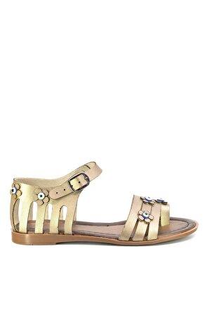 Eşle Kadın Altın Sandalet 102