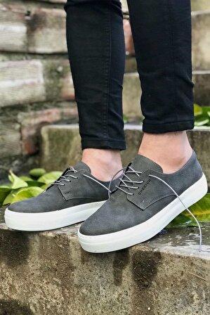 Erbilden Erkek Antrasit Ayakkabı