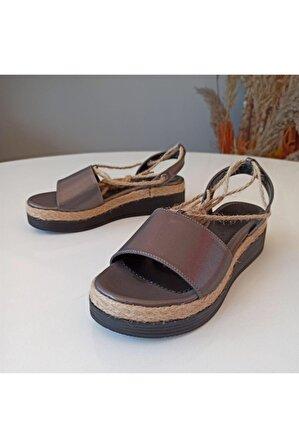 SMS Bayan 22120 Saten Sandalet