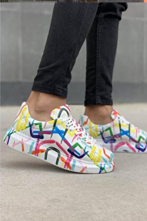 Chekich Ch255 Bt Erkek Ayakkabı Halka Renkli