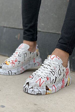 Mida Shoes Grafity Dergi Mida Sneakers