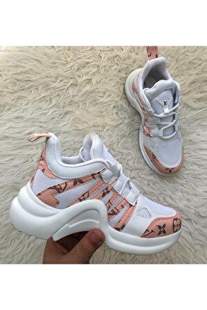 EG ayakkabı Kadın Pembe Sneaker