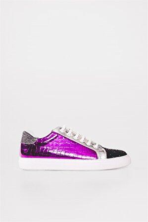 Shoes & More Kadın Fuşya Sneaker Ayakkabı