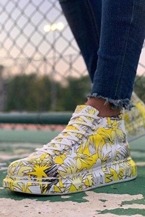 BOA Ch265 Bt Erkek Sarı Sneaker Ayakkabı
