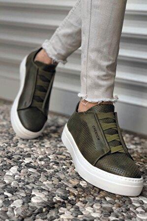 Chekich Ch011 Bt Erkek Ayakkabı Haki