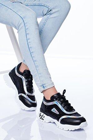 Stilbu Conny Spor Ayakkabı Sıyah