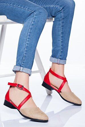 Ayakkabı Frekansı Kadın Kırmızı Alison Babet