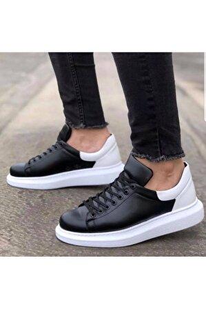 Chekich Erkek Siyah Beyaz Ayakkabı