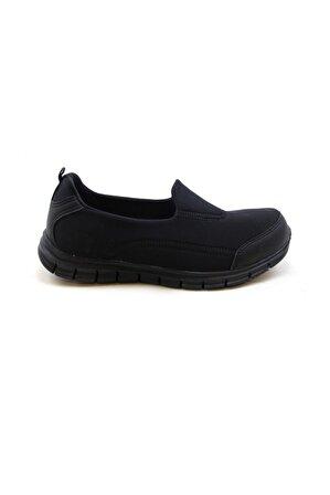 Scooter Kadın Siyah Tekstil Ayakkabı 5480