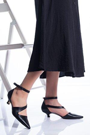 Ayakkabı Frekansı Kadın Costa Siyah Topuklu Ayakkabı