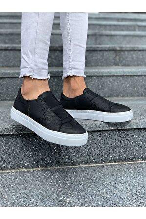 Chekich Erkek Siyah Ayakkabı Ch033 Bt