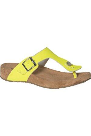 Graceland Kadın Sarı Parmak Arası Terlik