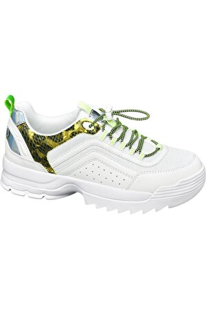 Catwalk Kadın Beyaz Ayakkabı