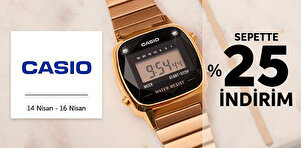 Casio Saat Koleksiyonu - Sepet %25