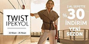 İpekyol&Twist - 2 Ve Üzeri Ürüne Sepette %30 İndirim