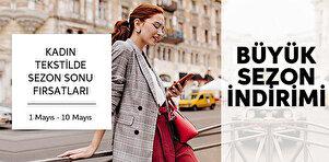 Kadın Tekstilde Sezon Sonu Fırsatları - Sepette %40 İndirim
