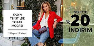 Kadın Tekstilde Sokak Modası - Sepette %20 İndirim