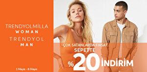 TRENDYOLMİLLA & TRENDYOL MAN - Çok Satanlarda Fırsat (sepette %20)