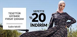 Tesettür Giyimde Fırsat Zamanı - Kadın Tekstil