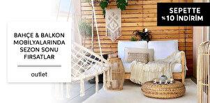 Bahçe & Balkon Mobilyalarında Sezon Sonu Fırsatları