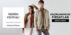 İndirim Festivali - Kadın & Erkek Tekstil