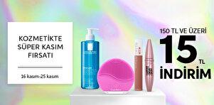 Kozmetikte Süper Kasım Fırsatı