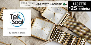 Rosefield & Seiko & Henry London & Nine West Saat Koleksiyonu