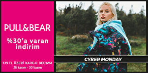 Pull & Bear - Yeni Sezon - Cyber Monday