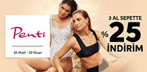 Penti - Plaj Giyim - 3 Al Sepette %25 İndirim