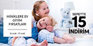 Çocuk & Bebek Ev Giyim