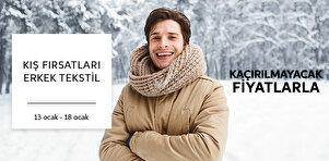 Erkek Tekstilde Dış Giyim Fırsatları - Sepette %5 İndirim - 2