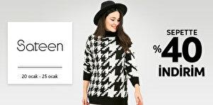 Sateen - Kadın Tekstil