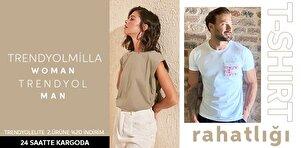 TRENDYOLMİLLA  & TRENDYOL MAN - T-shirt Rahatlığı