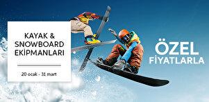 Kayak & Snowboard Ekipmanları