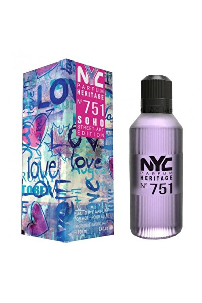 NYC Soho Street Art Edition No: 751 Edp 100 ml Kadın Parfümü 875990007519