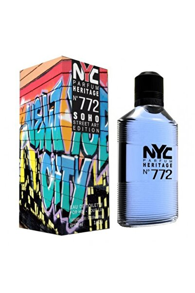 NYC Soho Street Art Edition No: 772 Edt 100 ml Erkek Parfümü 875990007724