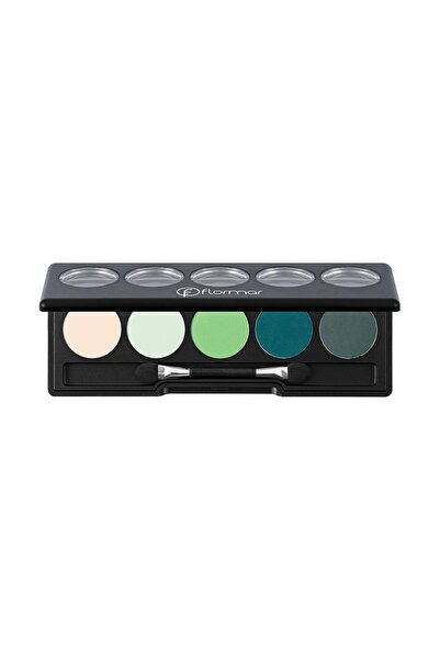 Flormar Far Paleti - Color Palette Eyeshadow Transforming Green 9 g 8690604191352