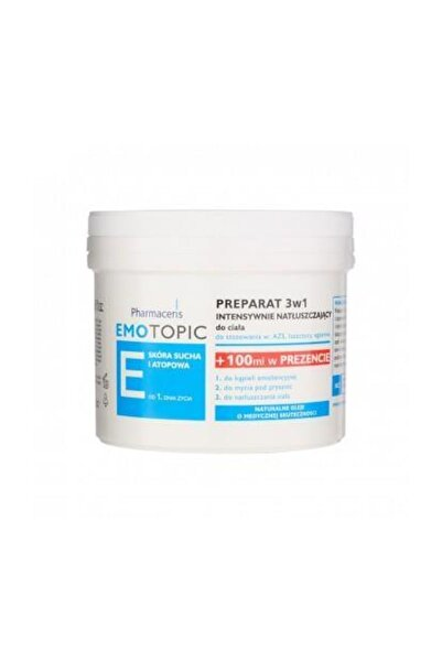 Pharmaceris E Lipid Replenishing Formula 3 İn1 Emollient Vücut Nemlendiricisi 500 ml