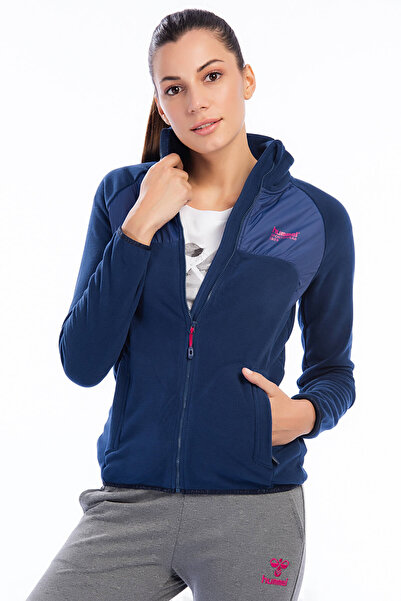 HUMMEL Kadın Sweatshirt Adesa Fleece Zip Jacket