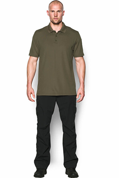 Under Armour Erkek Spor T-Shirt - UA TAC PERFORMANCE POLO - 1279759-390