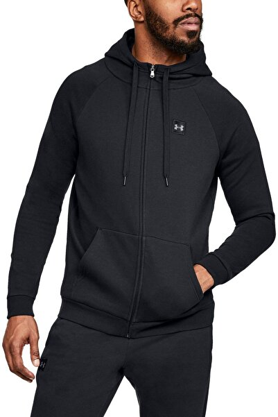 Under Armour Erkek Spor Sweatshirt - RIVAL FLEECE FZ HOODIE - 1320737-001