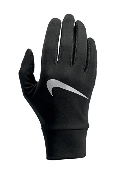 Nike Aksesuar NIKE WOMEN'S LIGHTWEIGHT TECH RUNNING GLOVES XS BLACK/BLACK/