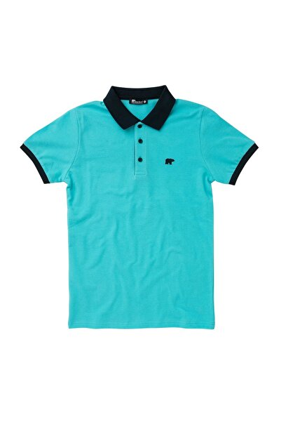 Bad Bear SWITCH PIQUE POLO AQUA