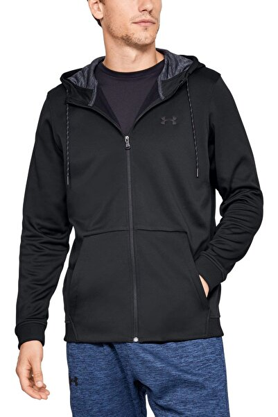 Under Armour Erkek Spor Sweatshirt - ARMOUR FLEECE FZ HOODIE - 1320744-001