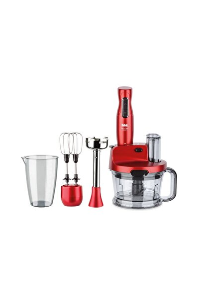Mr.Chef Quadro Rouge 1000 W Blender Seti